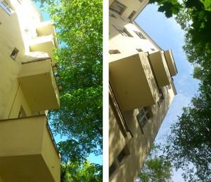 Fassaden-Freischnitt